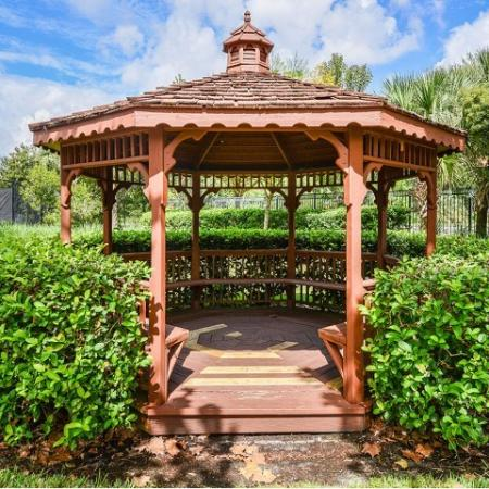 Community gazebo | Yacht Club | Heritage Harbor | apartment community