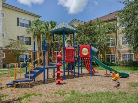 Orange City apartments with playground