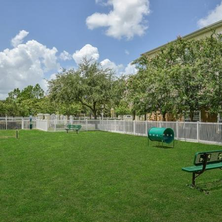 Orange City apartments with dog park