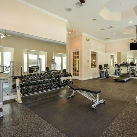 Orange City apartments with gym