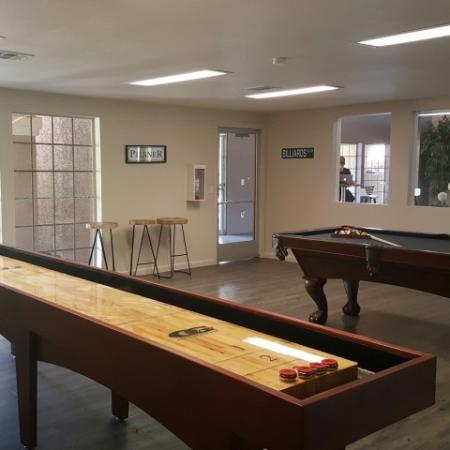 Game room | Promontory apartments