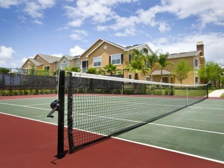 Estates at Heathbrook   tennis courts