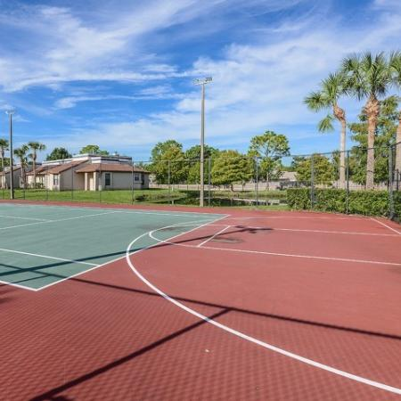 Basketball at Melbourne FL apartments