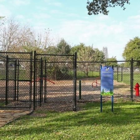 Dog Park | Madison at Walnut Creek | Pet friendly Austin apartments