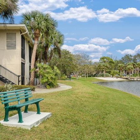Apartment homes with lake views | Melbourne FL
