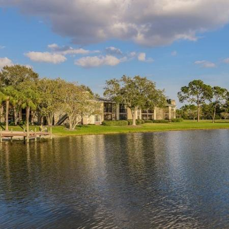 Community lake | Plantation Club at Suntree | Melbourne FL rentals