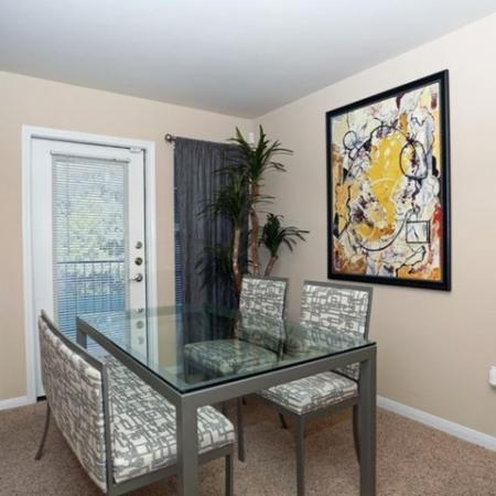 Dining room | Monterey Ranch | South Austin apartment