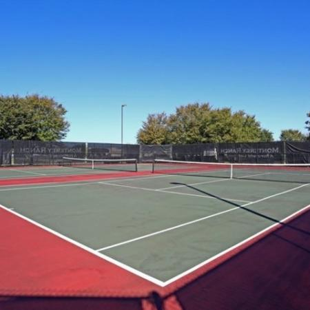 Tennis courts | Motnerey Ranch | Austin TX