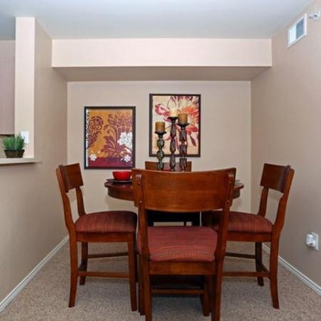 Dining room | apartment home | Monterey Ranch