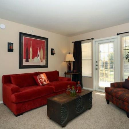 Living room | Monterey Ranch rentals