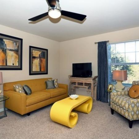 Living room   Monterey Ranch   Austin apartments