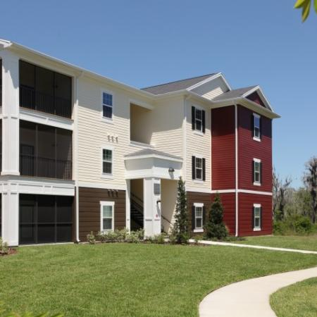 Exterior of The Village at Terra Bella apartment homes