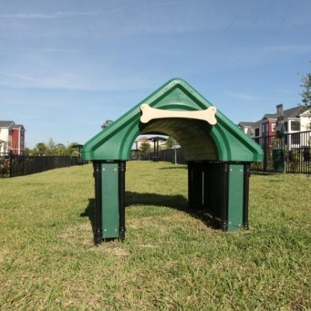 The Village at Terra Bella dog park | pet friendly apartments in Land O' Lakes FL