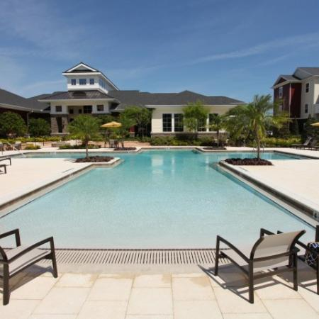 The Village at Terra Bella apartment community pool