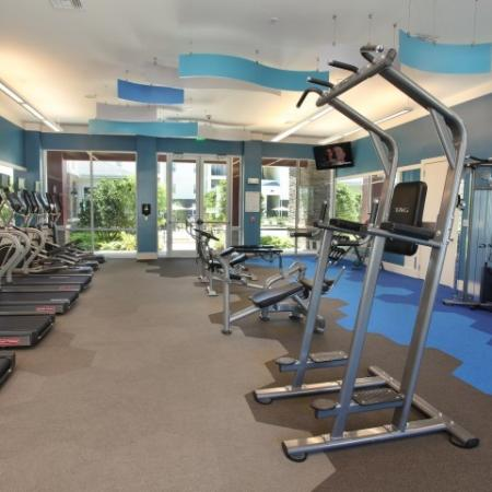 Village at Terra Bella fitness center weight equipment