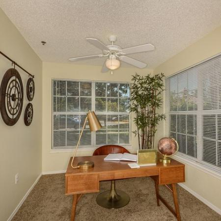 Royal St George 2 bedroom apartment living room | West Palm Beach FL