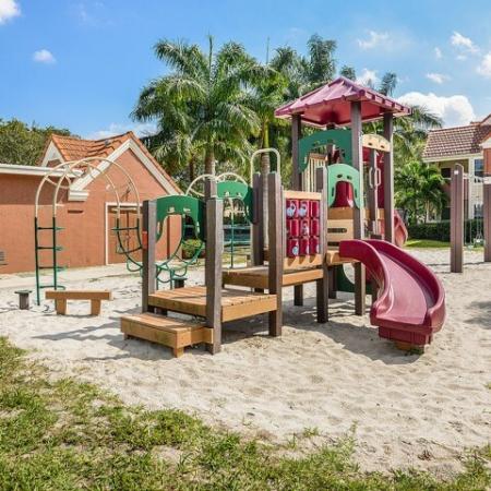 West Palm Beach apartment community playground