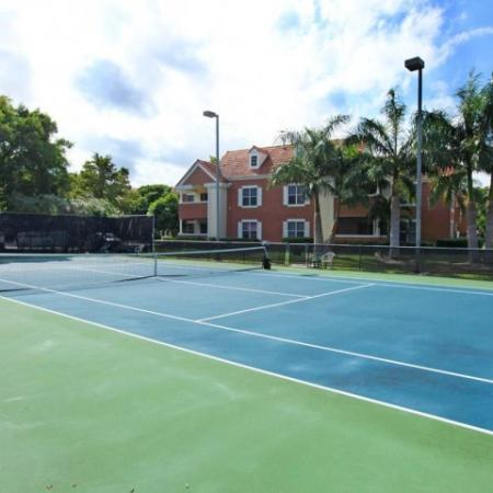 Tennis court | Windward at the Villages