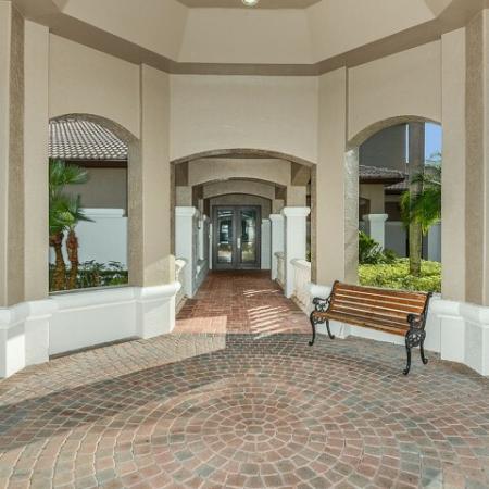 Entrance to Via Lugano leasing center