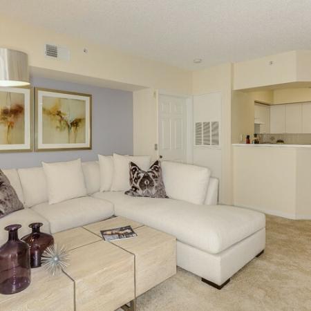 Living room in 1 bedroom apartment in Via Lugano