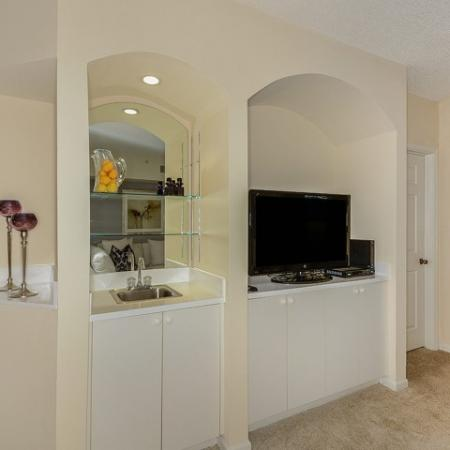 Built-in cabinetry | apartment homes in Boynton Beach FL