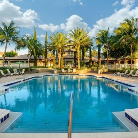Via Lugano apartment complex swimming pool