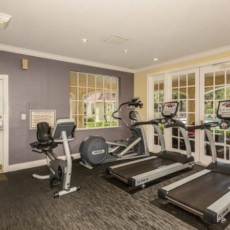 Cypress Shores apartments with gym