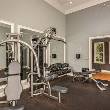 Jupiter FL apartment gym