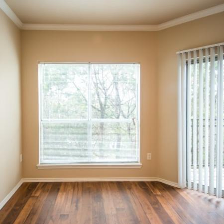 Apartment with hardwood flooring | Madison at the Arboretum