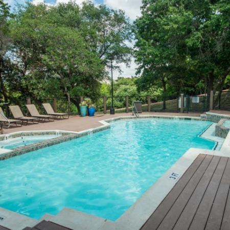 Community pool | Austin TX apartment