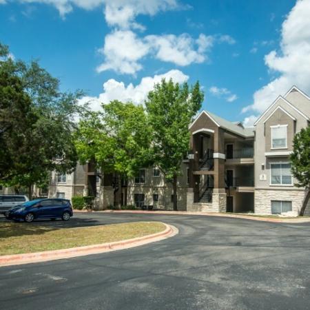 Parking lot | Apartment complex in Austin TX