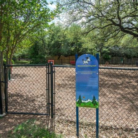Dog park | Austin TX apartment community