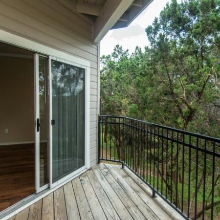 Apartment private balcony | Madison at the Arboretum
