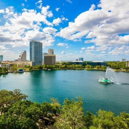 Views of Lake Eola | Paramount | Orlando high rise