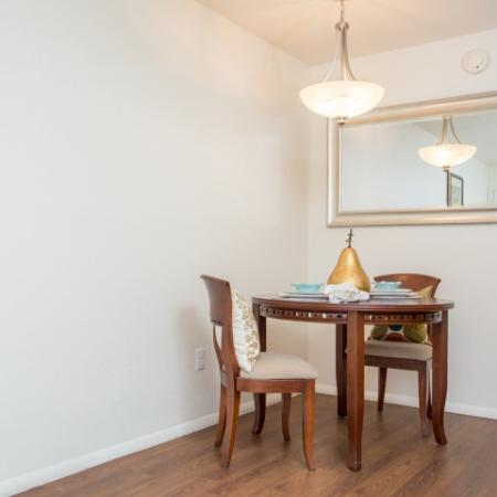 Dining | Promontory 1 bedroom rentals