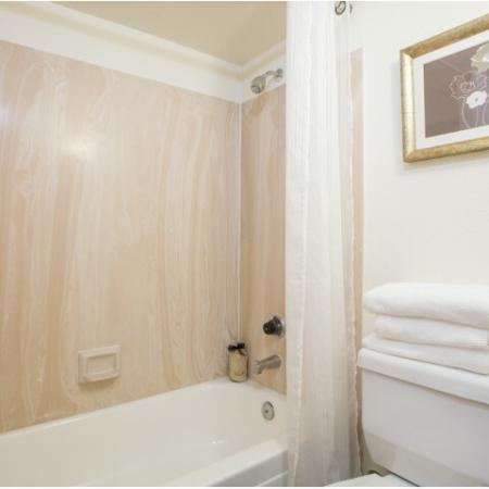 Bathroom | 1 bedroom apartment | Promontory