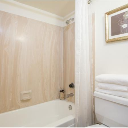 Bathroom | 1 bedroom apartment | Promontory