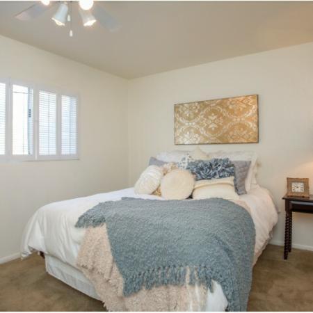 Bedroom | Promontory 1 bedroom apartment