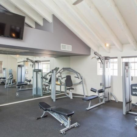 Fitness center | Promontory apartment amenities