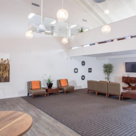 Clubhouse | sitting area | Promontory apartments
