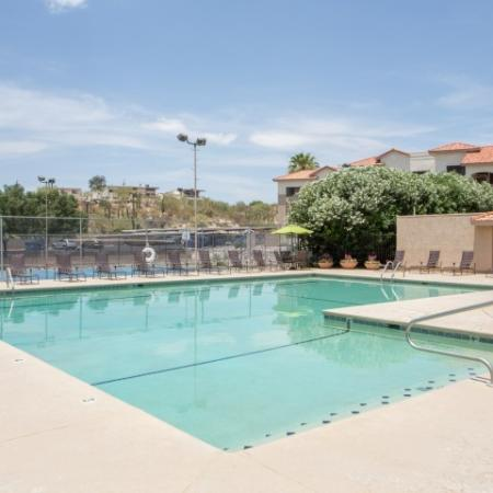 Apartment complex pool | Promontory | Tucson