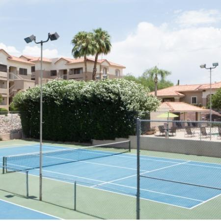 Tennis court | apartment recreation | Promontory