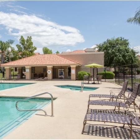 Pool and spa | apartment complex | Promontory