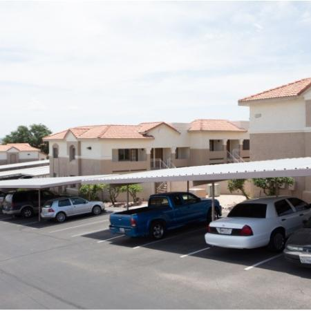 Covered parking | Tucson apartments | Promontory