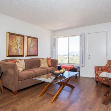 1 bedroom apartment living room | Valley View AZ