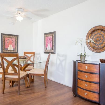Dining room | 1 bedroom apartment in Tucson AZ