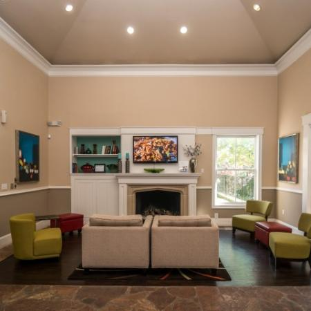 Apartment community clubhouse | Metric Blvd, Austin TX