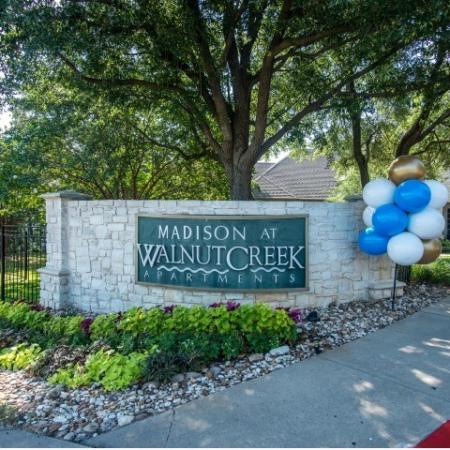 Entrance to Madison at Walnut Creek | Metric Blvd Austin