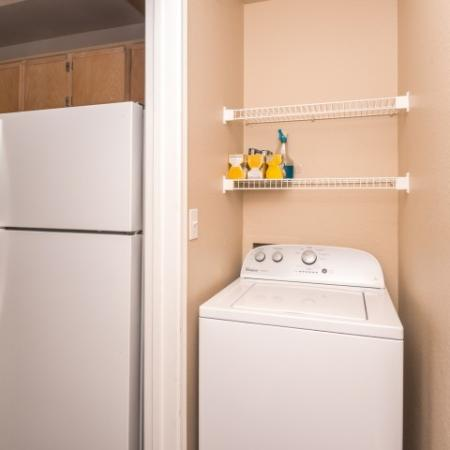 In-home washer and dryer | Austin TX apartment home