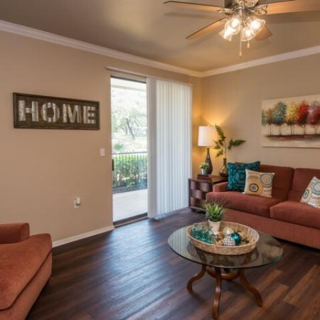 Apartment with hardwood flooring   Austin TX rentals